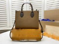High quality 2021 luxury designer leather messenger bag ladies handbag fashion retro printed letters one shoulder classic M45039