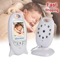 VB601 Baby Monitor 2 pollici Bebe Baba Babysitter Electronic Babysitter Radio Video Nanny Camera Night Vision Temperatura Monitoraggio 8 Lullaby