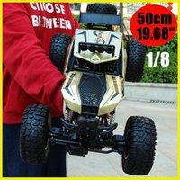 RC 4WD zdalnego sterowania Monster Wózek 1: 8, 50 cm i 2.4g Zabawki zdalnego sterowania dla dzieci Prezenty RC 4WD Monster elektryczny