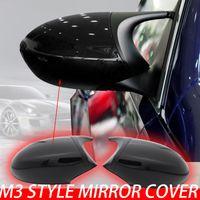 E90 E91 PRE-LCI 2005-2007 Couverture de style M3 noir E81 E82 E87 E88 pour BMW 3 Series E92 E93 Miroir arrière Cap 2006 2007 2008 2009 2009