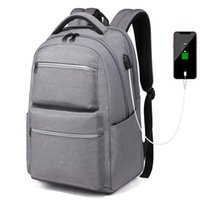 Backpack 16 Inch Laptop Backpacks Night Light Reflective Travel USB Charger Daypacks Men Computer School Bag Youth Work
