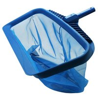 Pool & Accessories Swimming Pools Skimmer Net Rubbish Cleaning Rake Leaf Mesh Deep Bag Fishing Salvage