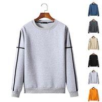 Men's Hoodies & Sweatshirts Winter Oversize Long Sleeve Crew Neck Warm Autumn Casual Basic Pullover Tee Tops Sweatshirt Orange