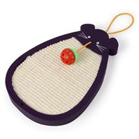 Bola de ratón Sisal Cat Cat Scratch Board Catnip Bed House Cushion Mat Scrapper Scratching Pad Post Interactive Play Toy Gwe9930