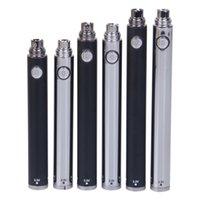 O OZ E TWIST BATTERY WITH DISPLAY 24PCS 650mAh 900mAh 1100mAh Vape Pen Adjustable Voltage Batteries and displays stand 2 Colors
