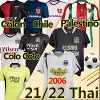 2021 2022 Colo Colo Palestyna Soccer Jersey Champion Wersja 1991 Enernos Campeones Jimenez Universidad de Chili Parraguez Colón Montillo Retro 2006 Koszula piłkarska