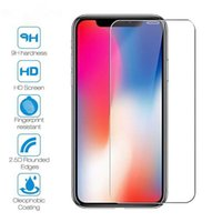 2.5D 0.3mm Tempered Glass Cell Phone Screen Protector Film for iPhone 13 12 11 mini Pro Max XR XS 6 7 8 Plus