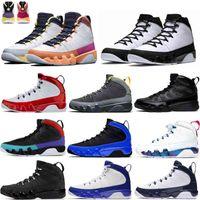 Ändern Sie die Welt 9 9 S University Gold Do It Herren Basketballschuhe Unc Racer Blue Space Jam Männer Sporst Sneakers Trainer 7 -13