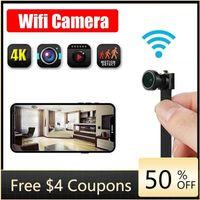 Bolca 4K wifi ip مصغرة كاميرا وحدة الحركة DV 1080P P2P كاميرا فيديو مسجل أمن الوطن مصغرة كاميرا التحكم عن بعد TF