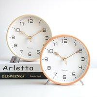 الحديث بسيط الجدول ساعة الحلي الشمال الإبداعية الجدول ساعة البندول الخشب كوارتز reloj escritorio نوم ديكور dj60zz