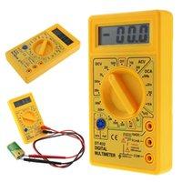 멀티 미터 전문 DT832 디지털 멀티 미터 LCD DC AC 전압계 전류계 OHM 테스터