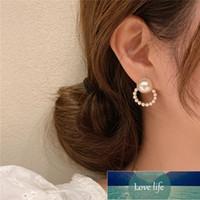 Korean Cute Rhinestone Earrings For Women Fashion Cross Moon Heart Pearl Earrings Deer Butterfly Dangle Earrings Jewelry Factory price expert design Quality
