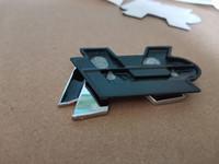 صائق سيارة التصميم المعادن 3D كروم ص شعار شارة شعار سباق السيارات ملصقا ل جولف 5 6 7 طوارق تيغوان باسات B6 B7 جيتا شاران