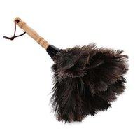 Антистатический меховой меховой меховой щетки страуса пыли