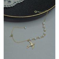 Ye Yuan Ручная жемчужная цепь глотают темперамент регулируемый браслет элегантный женщина 00315