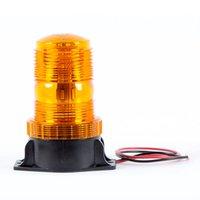 10-110V Аварийный предупреждение Flash Beach Light с янтарным светодиодным стробоском высокой яркостью для автомобильного грузовика Автопогрузчик