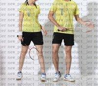 23 Badminton tragen Paare 44 Modelle 17 T-Shirt 13 Kurzarm 25 Schnelltrocknende Farbe Matching Drucke nicht verblasst Tisch Tennis 35 Sportbekleidung