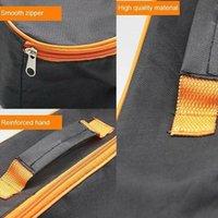 Storage Bags 35*11*10cm Portable Bag Waterproof Cleaner Durable Practical Zippered Wear Resistant Vacuum Organizer Black Pou R8P4