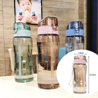 Water Bottles & Cages 580ml Plastic Portable Bottle Sport Sports For Children Girls Flat Drinking Cup Nature Outdoor