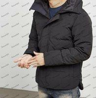 Estilista abrigo de lujo de lujo quilted chaqueta parka doudoune homme hiver marque hommes manteau moda casual invierno abrigo ropa exterior EE.UU. canada chaquetas