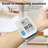 YONGROW Tonomètre Automatique Moniteur de pression artérielle numérique au poignet numérique LCD Sphgmomanomètre Compteur d'impulsion cardiaque BP