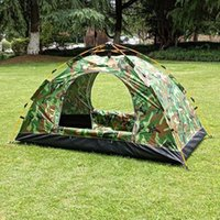 Tents And Shelters Camouflage Automatic Camping Tent Outdoor Single Man Jungle Equipment Picnic Speed Open Fishing Field