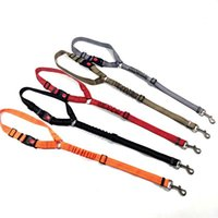 Dog Collars & Leashes Pet Car Safety Adjustable Belt For Puppy Kitten Vehicle Security Leash Nylon Pets Cat Seat Lead Harness