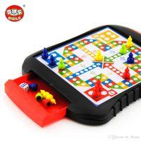Мини шахматные ящики магнитные шашки пластиковые шахматные настольные игры портативный ребенок игрушка полета шахматная доска семьи головоломки игры подарки