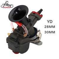 Evrensel YD 28 30mm Motosiklet Karbüratör Karbürador Carb Güç Jeti için 125cc-150cc Dirt Bike
