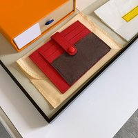 Classic Men Women Credit Card Holder Fashion Wallet Bags Designer Passport Coin Wallet Card package With Box And Dust bags