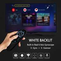 Smart TV 2.4G G10s Pro Voice Air Remote Controlers Mouse Backlight Gyroscope Mini control for Android Shield television Box