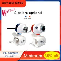Webcams HD Camera USB 2.0 Laptop Computer 480X640P Clip-on Rotatable NightVision Special Optical Lens High Precision Product