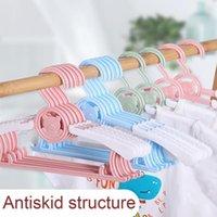 Hangers & Racks Baby Clothes Hanger Flexible Plastic Clothing Organ Children Display Organizer Unmarked Kids K0E4