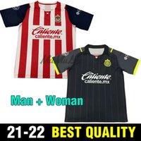Homem mulher 2021 Pulido Club América Liga MX Chivas Jerseys 21 22 O.Pineda A.Pulido C.Fierro E.Lopez 3ª Camisa Futebol Uniforme