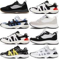 2021 Best B25 B24 Runner oblique Sneaker Hommes Platform Chaussures Créateurs de chaussures Noir Blanc En Cuir Entraîneurs en cuir Mailleux chaussures décontractées à lacets n ° 59 G1OQ # #
