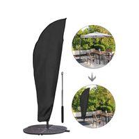 Copertura ombrellone da giardino per il giardino Cantilever Parasol Ombrelloni Ombrelloni Cover protettivo impermeabile Accessori da parasole JK2103XB