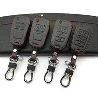 자동차 지갑 가죽 핵심 케이스는 뷰엘 Vauxhall Insignia Mokka Buick Fold Key 용 Chevrolet Cruze 용 Buick 용 키 가방을 설정합니다.