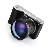 Caméscopes Digital Video Caméra 4 pouces HD écran tactile Support 32 Go de carte WIFI Lentille grand angle d'angle