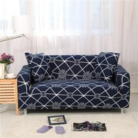 Chair Covers All-inclusive Slipcover Sofa Cover Printed Modern Polyester Geometric Elements Lattice Slip-resistant Four Season