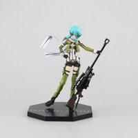 [Auf Lager] 18 cm Schwert Kunst Online2 Sinon Ghost Kugel Anime Figuren Garage Kit L0226