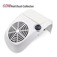 Nail Art Equipment 60W Powder Vacuum Cleaner Salon Tool With Powerful Bag