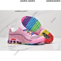 Yeni Reax Run Kadınlar Gökkuşağı Koşu Ayakkabıları Pembe Kaliteli Bayanlar Yastık Nefes Spor Sneaker Des Chaussure Trainer