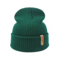 beanies for men autumn and winter knitted wool hooded warm fashion adult hat
