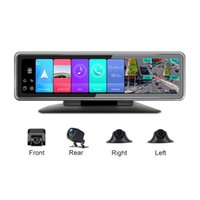 Car Video 2021 S 4 Channel For Taxi Driver Recorder Mirror Navigator Rear View DVR Android 9.0 Dashcam ADAS 4G Wifi DVRs