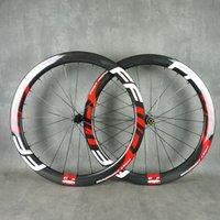 FFWD 700C 60mm profundidade 25mm largura de disco rodoviário bike bike wheelset rodas de carbono completa clincher / tubularess / tubular 3k acabamento brilhante de alta qualidade