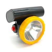 Фары 12 шт. / Лот KL2.5LM Беспроводной светодиодный добыча света 3W фар шахтер шапка
