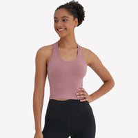 Yoga Outfits Women Sport Singlet Athletic Fitness Tank Tops Backless Vest Gym Running Training Sleeveless Shirts Crop Top