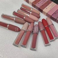 Labbra Trucco 12 Colore Lustre Lip Gloss Matte Liquid Liquid Liquid Rossetto Natural Lunga durata cosmetica impermeabile