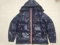 2021 Moda-Yeni erkekler rahat aşağı ceket palto açık sıcak tüy adam kış dış giyim ceketler