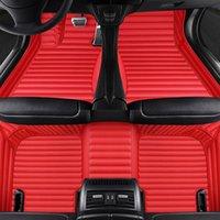 Künstliches Leder Auto Fußbodenmatte für Renault Megane CC Latitude Laguna Captur Alle Models Zubehör Teppich Alfombra Luxus-Surround